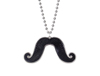 Large Mustache Necklace