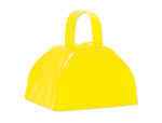 "3"" Yellow Cowbell"