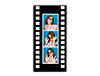 "2"" x 6"" Filmstrip Cardboard Photo Frame"