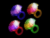 LED Porcupine Rings