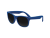 Solid Navy Blue Classic Sunglasses - UV400 Lens