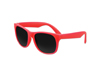Solid Red Classic Sunglasses - UV400 Lens