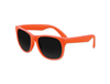 Solid Orange Classic Sunglasses - UV400 Lens