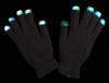 Light Up Gloves - Black