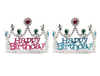 Happy Birthday Tiara Pink/Blue