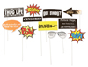 Party Sayings Props on a Stick