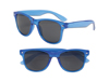 Transparent Blue Iconic Sunglasses - UV400