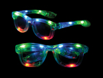 LED Iconic Glasses - Clear