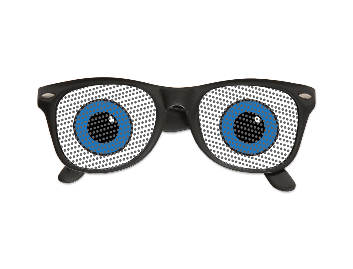 Funny Eyes Pinhole Glasses