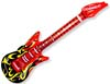 "42"" Inflatable Flame Guitars"