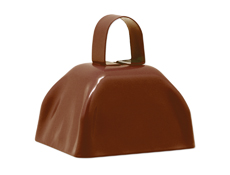 "3"" Brown Cowbell"
