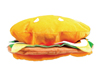 Velvet Hamburger Hat