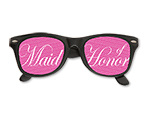 Maid of Honor Printed Lens Glasses