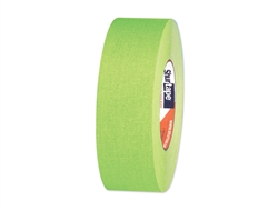 "1"" Fluorescent Party Tape - Neon Green"
