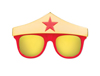 WONDER WOMEN HERO GLASSES