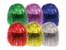 Assorted Mylar Wigs