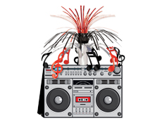 B57360 - Boom Box Centerpiece