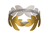 Gold Roman Laurel Wreath