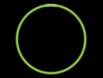 "CG7G - 8"" Green Glow Light Bracelets"
