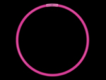 "CG7P - 8"" Pink Glow Light Bracelets"
