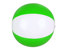 "JL5448 - 16"" Green/White Beach Ball"