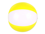 "JL5449 - 16"" Yellow/White Beach Ball"