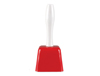 "S11034 - 7.5"" Red Cowbell With Handle"