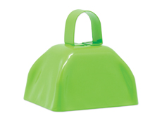 "S11146 - 3"" Neon Green Cowbell"