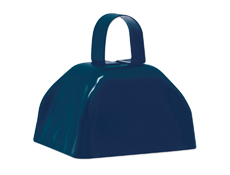 "S11169 - 3"" Navy Blue Cowbell"