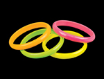 S18011 - Black Light Neon Color Bracelets