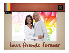"Best Friends Forever 4"" x 6"" Cardboard Photo Frame"