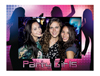 "Party Girl 4"" x 6"" Cardboard Photo Frame"