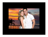 "Black 4"" x 6"" Black Cardboard Photo Frame"