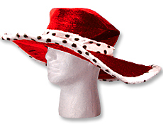 Red Show Daddy Hat