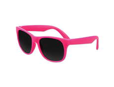 S36013 - Solid Pink Classic Sunglasses - UV400