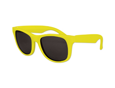 S36036 - Kids Classic Sunglasses - Solid Yellow