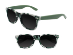 S36044 - Green Digi Camo Sunglasses