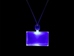 S46039 - Light Up Rectangle Necklaces
