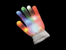 Rainbow Light Up Glove