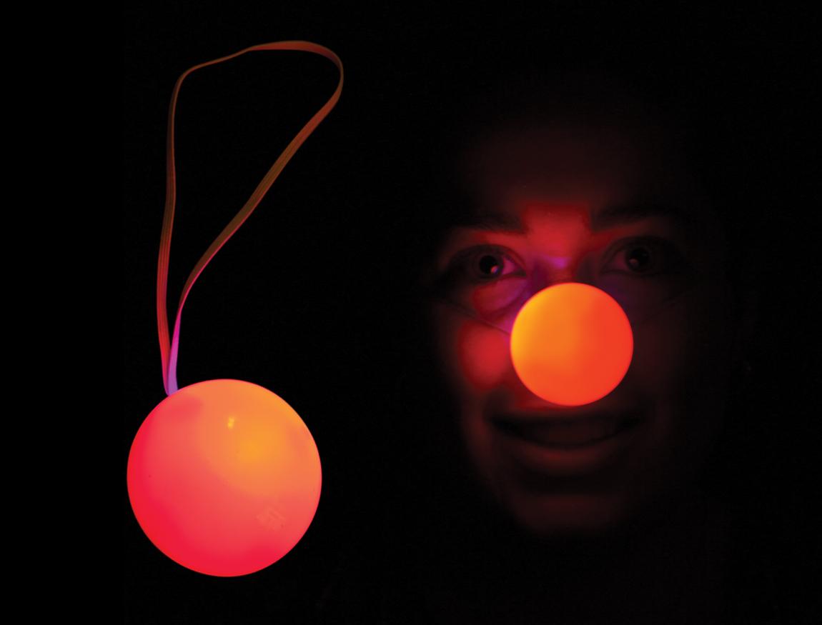 Flashing Red Light >> S46064 Light Up Flashing Red Nose