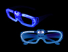 Sound Activated EL Glasses - Blue
