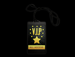 S46083 - VIPs Backlit LED Medallion Necklace