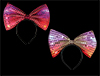 LED Sequin Bow Headband