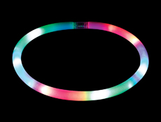 S46110 - Foam LED Tube Necklace