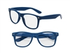 Clear View Blue Iconic Sunglasses - UV400
