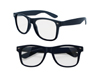 Clear View Navy Blue Iconic Sunglasses - UV400
