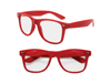 S53011 - Clear View Red Iconic Sunglasses - UV400