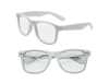 Clear View White Iconic Sunglasses - UV400