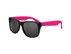 Classic Style Sunglasses - Neon Pink
