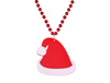 SANTA HAT MEDALLION BEADS
